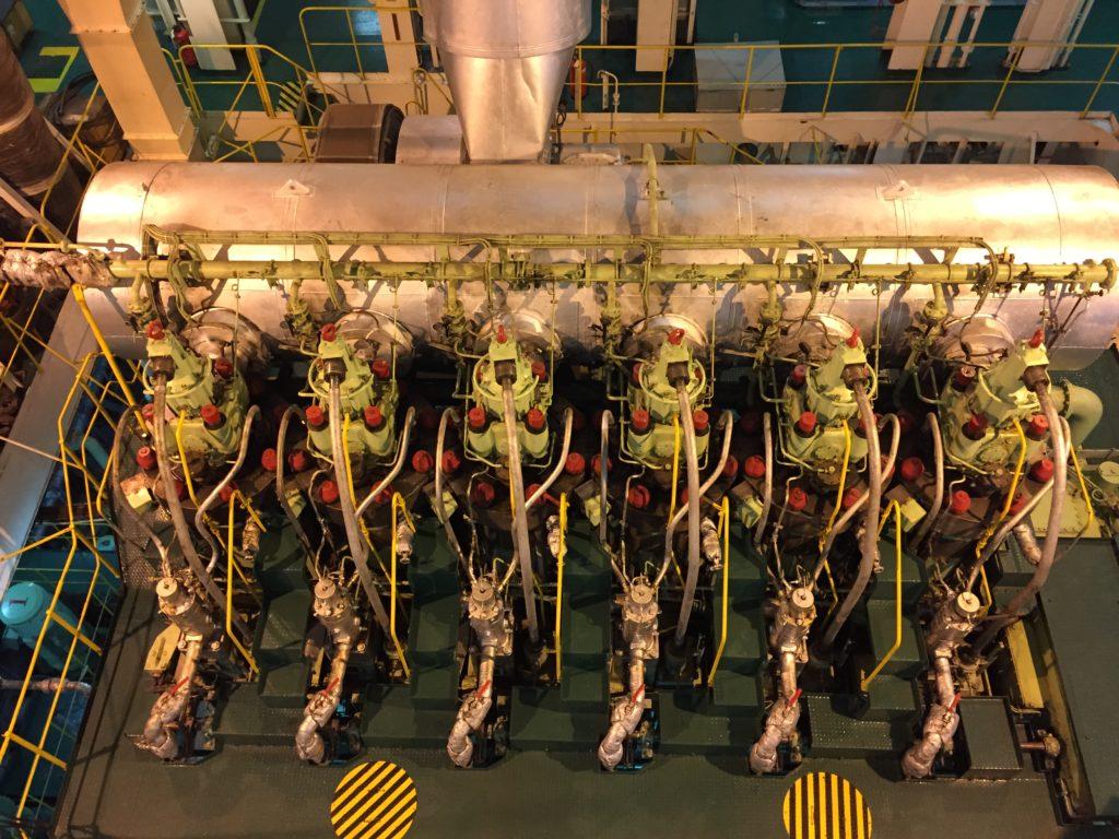 22920 BHP B&W 6S 70 MC-C Engine